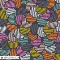"""Crop Circles"" print design. Copyright Robyn Bockmann 2014."